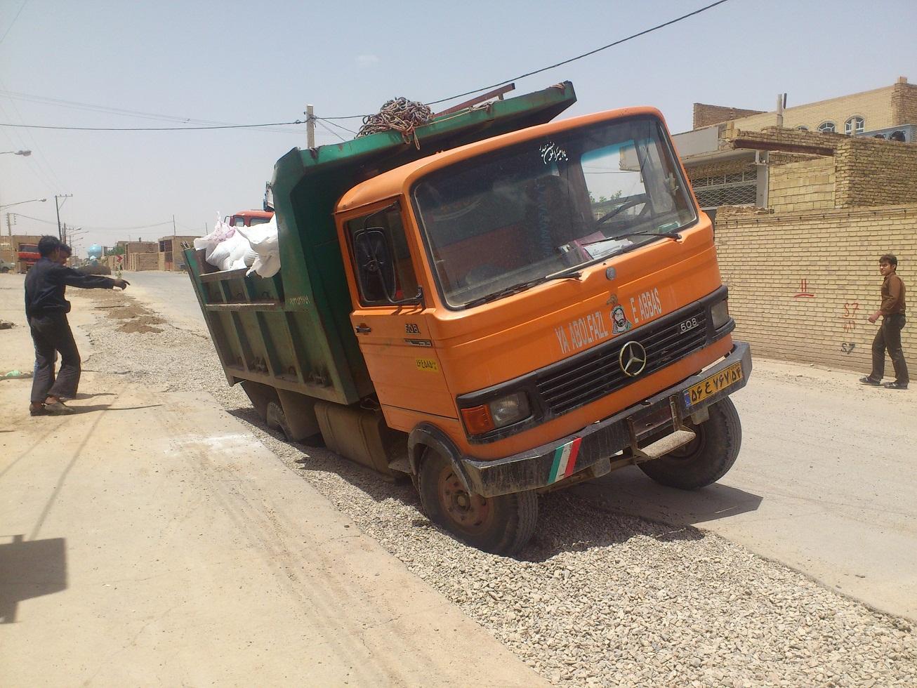 حادثه در خیابان شهید مبینی